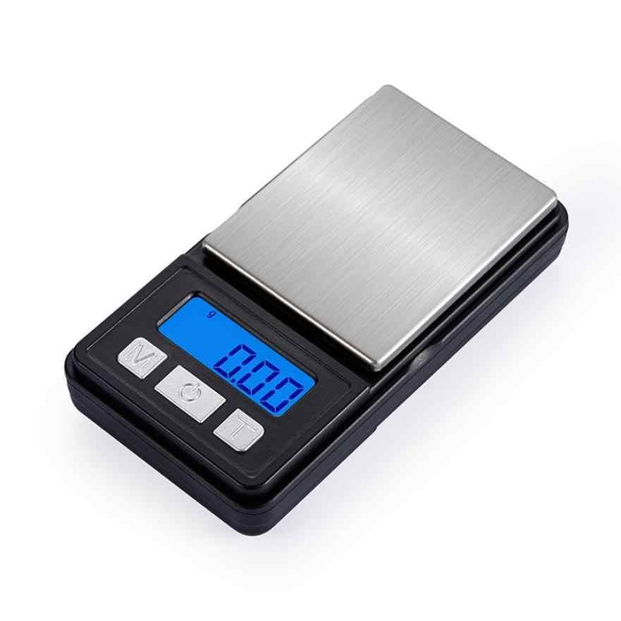 Весы для ювелирных изделий из нержавеющей стали, 0,01 г