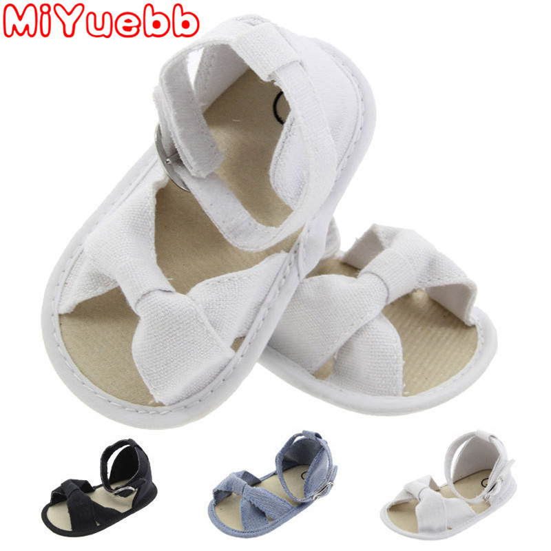 Baby Girl Sandals Anti-slip Shoes Bowknot Princess Shoes Toddler Girl Shoes Casual Soft Bottom Sandals 0-18M 2020 New