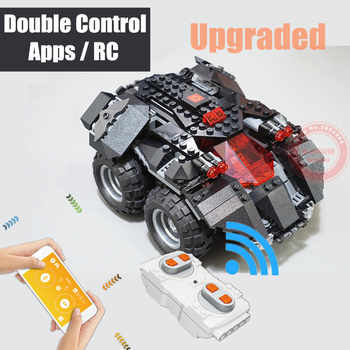 New MOC RC App-controlled Batman Fit Legoings Batmobile Technic Power Up Car Building Blocks Bricks Toys Gift Kid Boy Birthday - DISCOUNT ITEM  29% OFF All Category