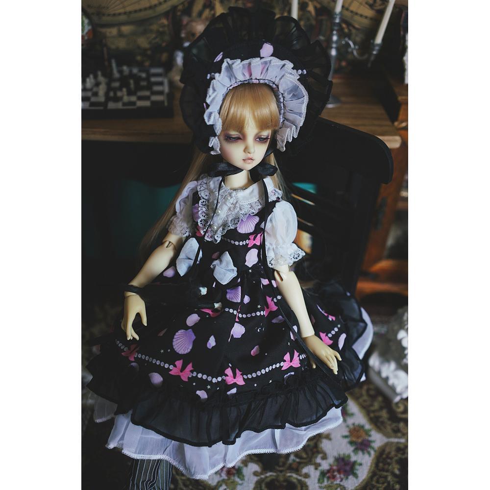 Fantasy Lolita Dress For 1//6 1//4 MSD 1//3 YOSD BJD Doll Dollfie Outfit