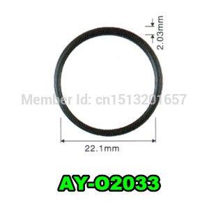 100 sztuk o-ring wtryskiwacza paliwa 22.1*2.03mm dla Nissan Frontier 3.3L (AY-O2033)