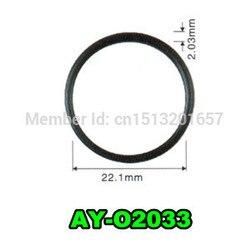 100 sztuk o ring wtryskiwacza paliwa 22.1*2.03mm dla Nissan Frontier 3.3L (AY O2033)|Wtrysk paliwa|   -