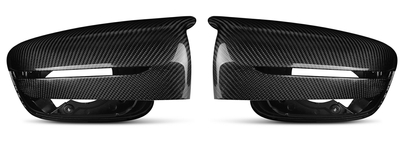 Carbon Fiber Mirror Case Cap M5 Style Replacement Fr BMW G30 G38 G11 G12 2017 Up