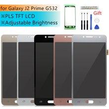 Регулируемый ЖК дисплей для Samsung Galaxy J2 Prime, ЖК дисплей, сенсорный экран, дигитайзер в сборе, G532, G532F, запасные части для ремонта