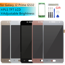 Verstelbare Lcd Voor Samsung Galaxy J2 Prime Lcd Touch Screen Digitizer Vergadering G532 G532F Vervanging Reparatie Onderdelen