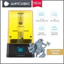 Anycúbico fóton mono 2020 mais novo impressora 3d lcd-baseado sla velocidade de impressão rápida max 50 mm/h 66monochrome 2k monocromático lcd impresora 3d