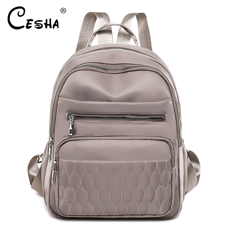 Fashion Casual Women Travel Backpack Pretty Style Girls Schoolbag Backpack High Quality Soft Fabric Multi pockets Backpack SAC