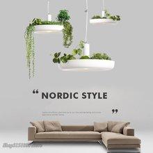 Bắc Âu Vật Có Mặt Dây Chuyền Đèn DIY Bầu Trời Sân Vườn LED Hoa Treo Đèn Phòng Ăn Nhà Hàng Thiết Bị Chiếu Sáng Trang Trí Nhà