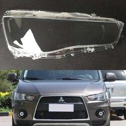 Reflektor samochodowy obiektyw do Mitsubishi Outlander 2010 2011 wymiana samochodu Auto Shell Cover