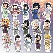 Desk-Decor-Ornaments Gift Anime Kimetsu Demon Slayer Topper-Fans Figures-Stand-Model