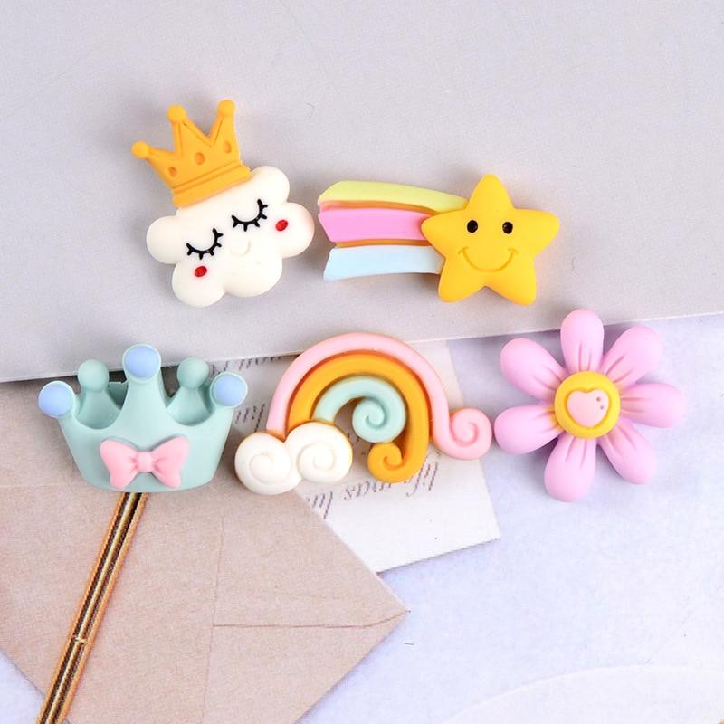 Star Magnetic Fridge Magnet, Cloud Magnetic Fridge Magnet, Crown, Rainbow Fridge Magnet, Cute Blackboard Sticker