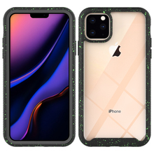 For iPhone 11 Pro Max 6.5 Case Starry Sky Back TPU + PC Hybrid Shockproof Protective Cover for iPhone 11 Pro 6.1 11 5.8 Case fashionable contrast color pc tpu protective back case for iphone 5c black green