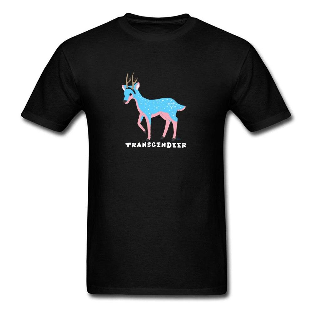 Tyburn Transgendeer Design Pride Lgbt Gay Lesbian T Shirts Elk Deer Graphic Men Tshirts High Quality Clothing Shirt Cotton Loose