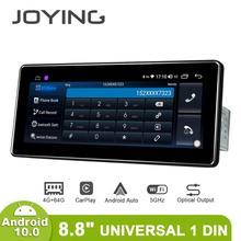 "8.8 ""Android 10 araba radyo Pantalla 1 Din 4GB 64GB evrensel kafa ünitesi Bluetooth multimedya 4G carplay Android otomatik optik çıkış"