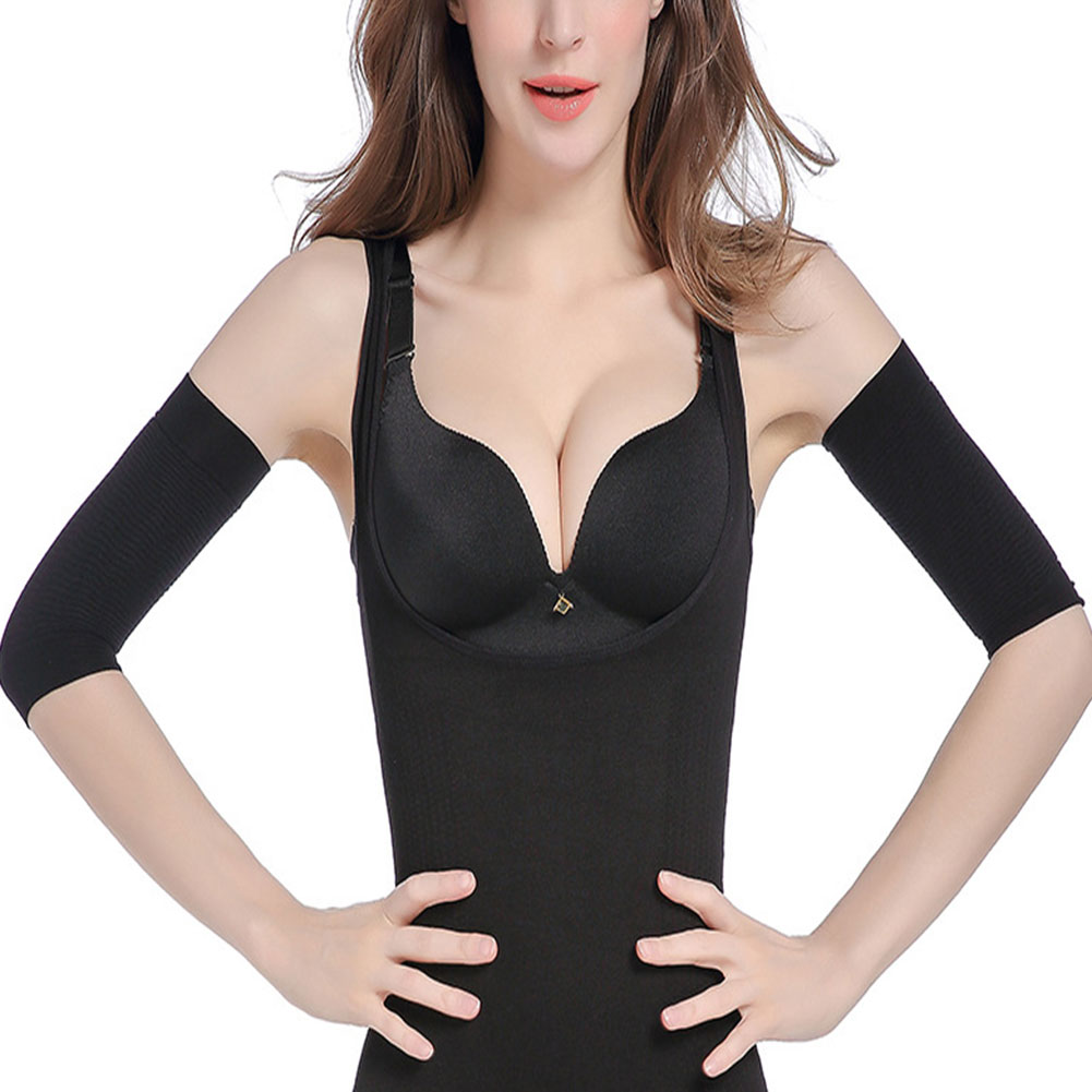 Compression Slim Arms Sleeve Shaping Arm Shaper Upper Arm Supports Women -MX8