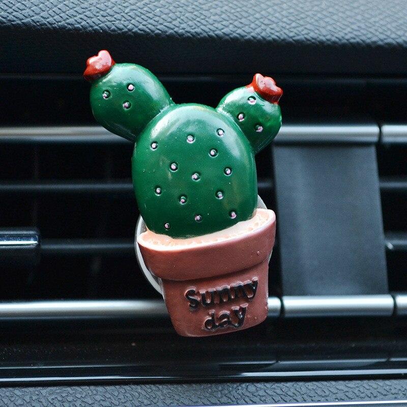 Ambientador con forma cactus 3