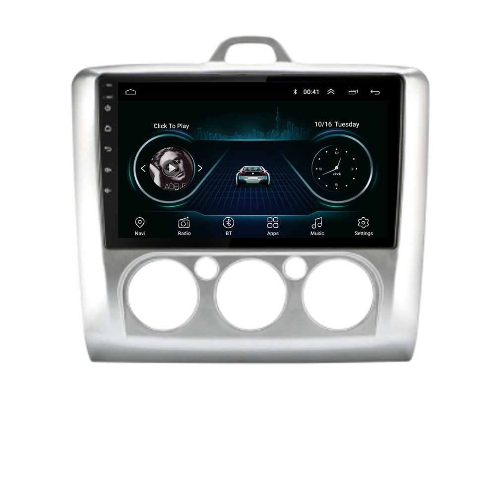 4G LTE Android 10.1 For Ford Focus Exi AT 2004 -2011 Multimedia Stereo Car DVD Player Navigation GPS Radio image