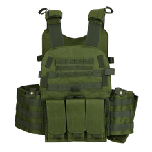 Military Tactical Vest Airsoft Hunting Vest Outdoor Men Modular Vest Molle Combat Assault Plate Carrier with Hydration Pocket