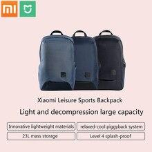Nieuwe Xiaomi Mijia Fashion School Rugzak Tas Duurzaam Waterdicht Outdoor Pak Voor 15.6 Inch Laptop Computer