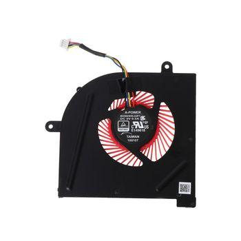 Laptop GPU wentylator chłodzący CPU dla MSI GS63VR GS63 GS73 GS73VR MS-17B1 Stealth Pro procesora BS5005HS-U2F1 GPU BS5005HS-U2L1 chłodnicy H4GA tanie i dobre opinie OPEN-SMART NONE CN (pochodzenie) as show Łożyska ze stopu 50 000 godzin Brak RPM 16dBA Obsługa RGB 23-89 CFM 2 Linie