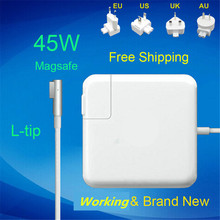 цена на 100% New! 14.5V 3.1A 45W Laptop MagSaf* Power Adapter Charger For Apple Macbook Air 11'' 13'' A1374 A1304 A1369 A1370