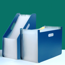 A4 desk folder file paper storage box multi-layer extension box school office supplies large capacity