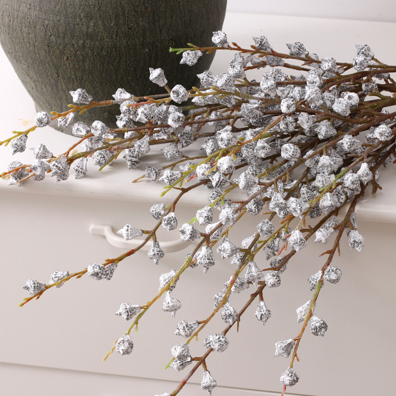 10 шт., искусственные цветы эвкалипта для украшения стен