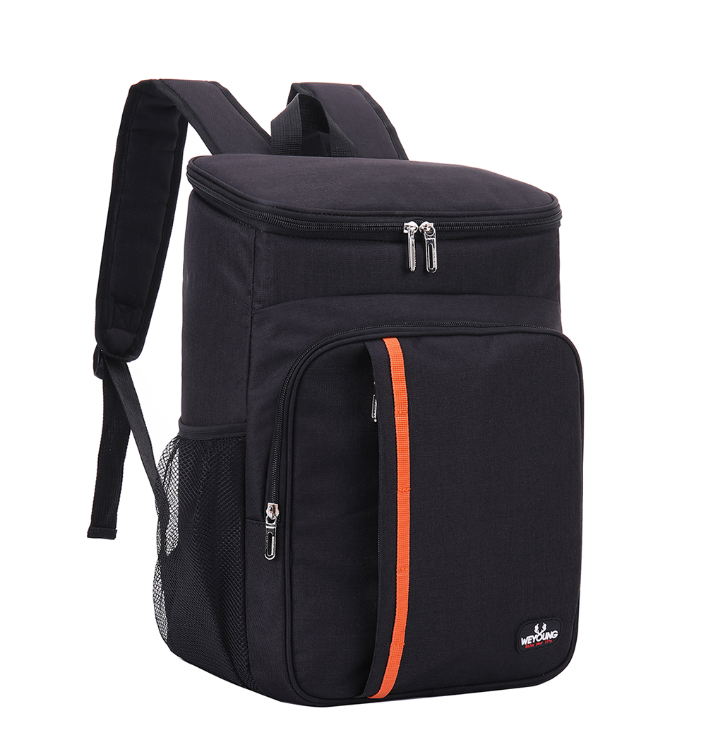Outdoor Large Capacity Leak Proof Men Woman Thermal Insulated Cooler Shoulder Backpack Picnic Bag