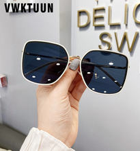 Женские квадратные солнцезащитные очки vwktuun большого размера