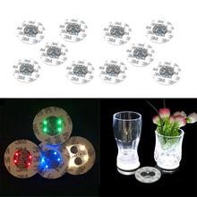 Светодиодный светильник с подсветкой, светодиодный светильник для бутылок, наклейки на Рождество, Рождество, бар, клуб, вечерние, ваза, украшение, светодиодный светильник, мини-светильник