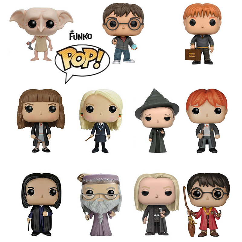 Funko Pop H P Magic School Luna Dobby Snape The Movie Vinyl Action & Toy Figures Collectible Model Toy For Children