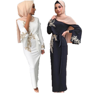 Image 3 - Dubai Muslim Prayer Dress For Women Moroccan Turkey Bangladesh Oman Islamic Clothing Robe Hijab