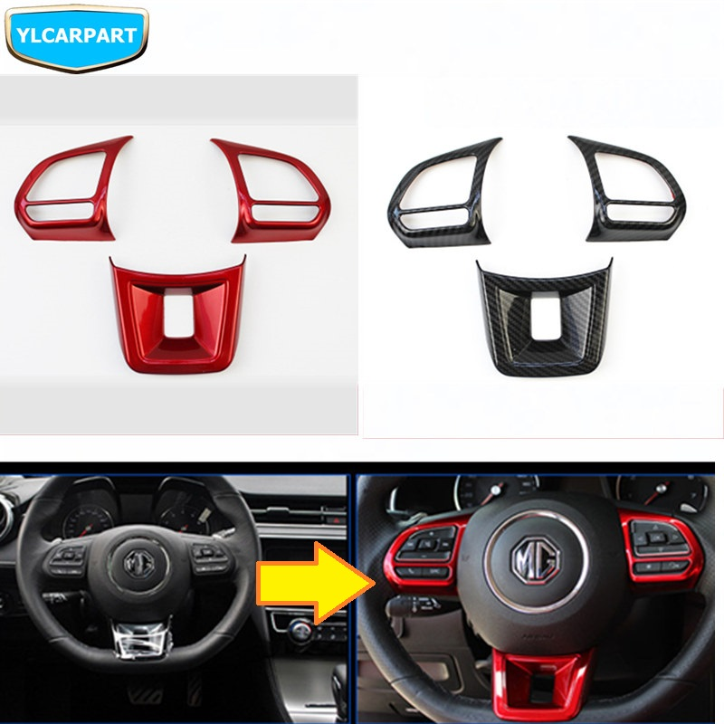 For MG ZS HS GS GT 3 6 MG3 MG6,Car Steering Wheel Button Sticker