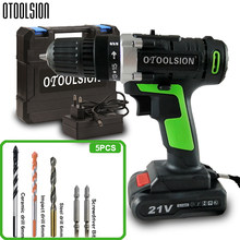 1500 Mah 21V Electric Screwdriver Wireless Screwdriver Tool Drill +Screwdriver Charger 15+1 Torque шуруповерт аккумуляторный(China)