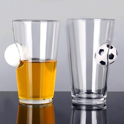 Creative with football cup, table tennis cup, beer cup, wine cup, KTV common glass