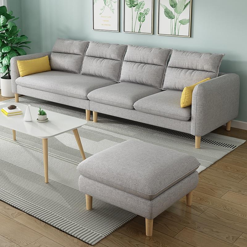 Sofa Set Living Room Furniture Modern Furniture Sofas Modernos Para Sala Baratos Leather Couches Muebles De La Sala