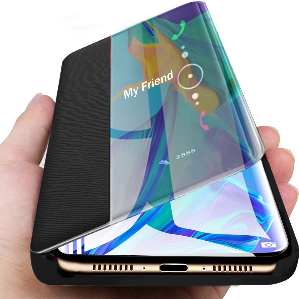 Leather Flip <font><b>Case</b></font> For <font><b>huawei</b></font> p30 pro p10 p20 mate 20 p smart <font><b>2019</b></font> y6 <font><b>y7</b></font> 2018 honor 10 lite 9 light honer 8x nova 3 4 View <font><b>Cover</b></font> image