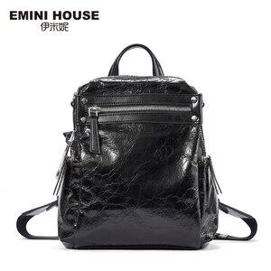 Image 2 - EMINI HOUSE Punk Style Women Backpack Multiple Wearing Methods Women Shoulder Bag Backpacks For Teenage Girls School Bag