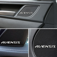 Emblem-Sticker Avensis Toyota Stickers-Accessories for T25 T27 Car-Styling 10pcs Badge