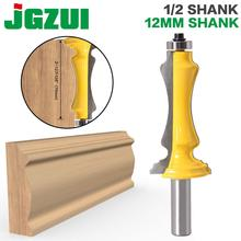 "1 pc porta & janela embalagem roteador bit 1/2 ""12 mmshank linha faca porta faca cortador de madeira tenon cortador para ferramentas de madeira"