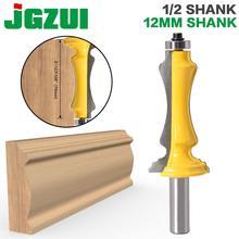 """Broca enrutadora de carcasa de puerta y ventana, 1 unidad, 1/2 """", 12mm, cuchillo para puerta, cortador de carpintería, cortador de tenón para herramientas de carpintería"""