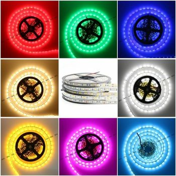 DIY LED U-HOME 10mm White PCB DC12V 5M 300led RGBWW/RGBCW Strip Light SMD5050 60led/m Flexible Tape