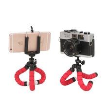 Tripod Mini for iPhone Camera Clip-Holder Convenient And Practical 1pcs Octopus-Sponge