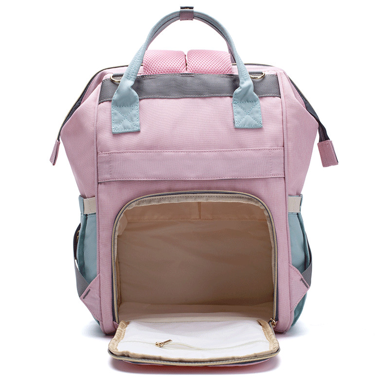 Image 5 - LEQUEEN Diaper Bag Baby Care Mummy Maternity Bag Large Storage Travel Waterproof Antifouling Backpack Stroller Bag Nappy Bag-in Diaper Bags from Mother & Kids