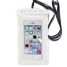 Sbart водонепроницаемый чехол для телефона Дайвинг Телефон Чехол смартфон с сенсорным экраном Универсальный плавательный Холтер Пыленепроницаемая сумка Apple