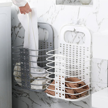 AA Bathroom Storage Shelves Portable Laundry Washing Dirty Clothes Bin Foldable Bag Basket Hamper