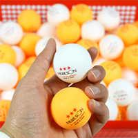 Huieson 30 50 100 Uds inglés nuevo Material pelotas de tenis de mesa 3 estrellas 40mm + 2,8g blanco naranja Pelotas de ping pong bolas de entrenamiento ABS