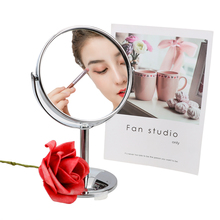 Makeup Mirror Magnifier Cosmetic Round-Shape Rotatable Mini 360-Rotation Clear HD NICEYARD