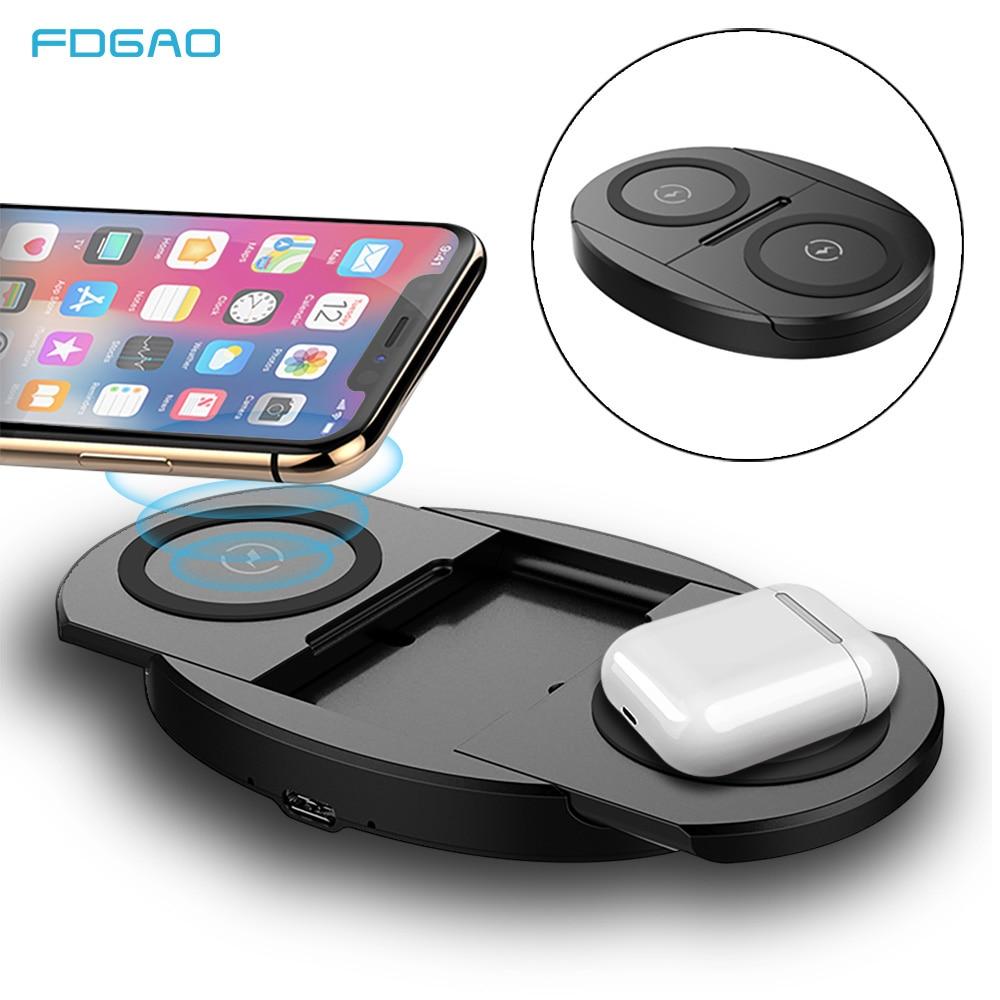 Doble USB QC3.0 Rápido Cargador de coche para Samsung Galaxy S10 Plus S9 Note 10 iPhone XS
