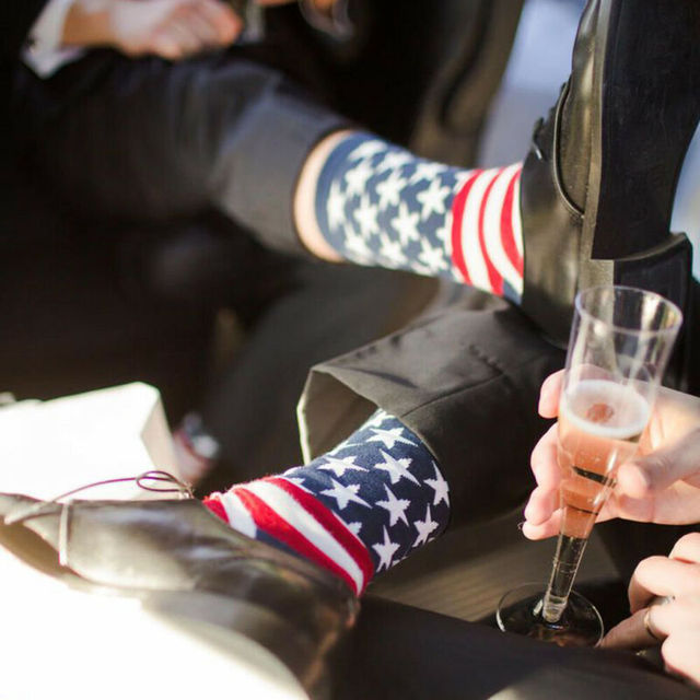 Stars & Stripes USA Sock  4